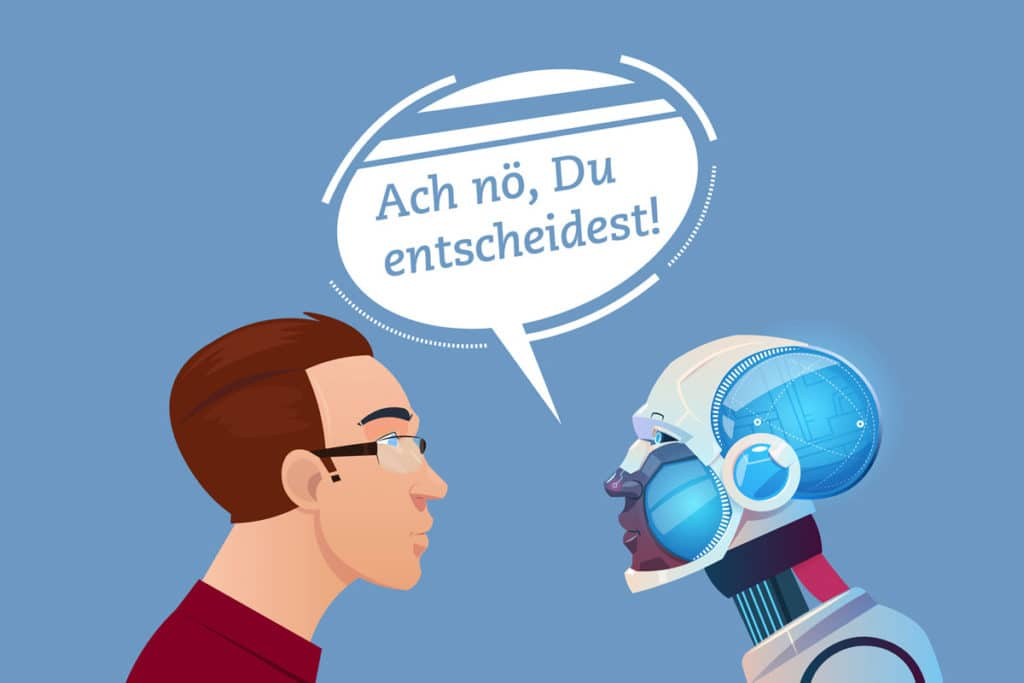 Warum Roboter uns keine Entscheidungen abnehmen werden