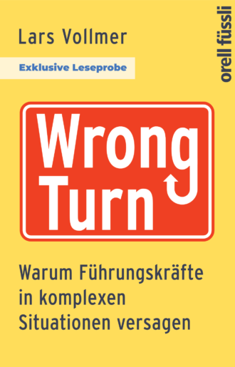 Cover Leseprobe Wrong Turn
