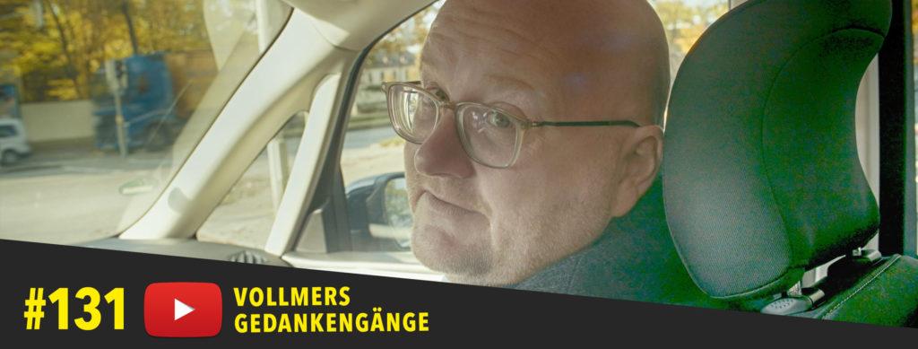 Lars Vollmer im Auto